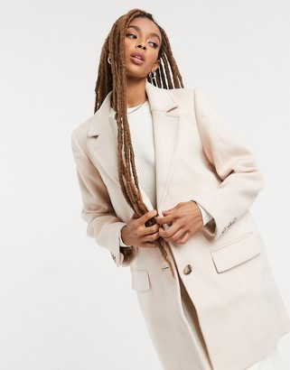 And other stories & wool blend coat in beige