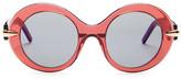 Pomellato Women's Fashion Round Sunglasses