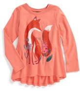 Tea Collection Toddler Girl's Orain Twirl Top