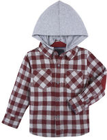 Andy & Evan Baby Boys Check Flannel Button Down Shirt
