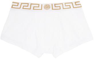 Versace Underwear White Medusa Low-Rise Boxer Briefs