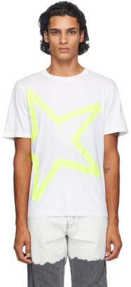 Golden Goose White Adamo Star T-Shirt