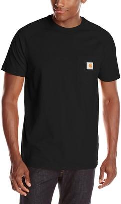 Visit The Carhartt Store Carhartt .100410.001.S008 Force Cotton Short Sleeve T-Shirt XX-Large