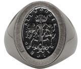 Alexander McQueen Silver Signet Ring