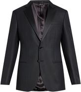 Giorgio Armani Satin-lapel single-breasted tuxedo jacket