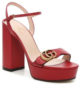 Gucci Marmont 85 Platform Sandal