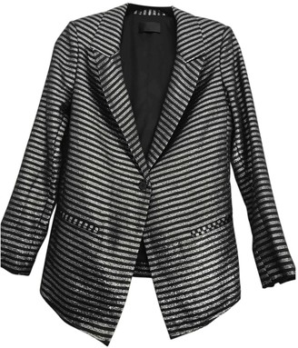 RtA Metallic Jacket for Women