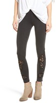 BP Women's Lace Inset Leggings