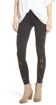 BP Women's Lace Inset Leggings