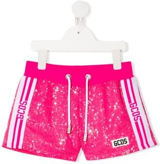Gcds Kids Sequin Track Shorts