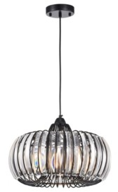 """Home Accessories Atelier 17"""" 1-Light Indoor Pendant Lamp with Light Kit"""