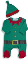 BABY TOWN BABYTOWN Unisex Baby Novelty Christmas Sleepsuit & Hat Set (Sizes Newborn - 6m)