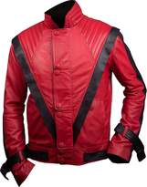 Feather Skin Michael Jackson Thriller Style Leather Jacket Colour