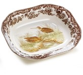 Spode Woodland by Snipe Open Vegetable
