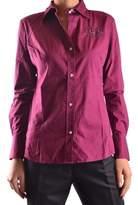 La Martina Women's Fuchsia Cotton Shirt.
