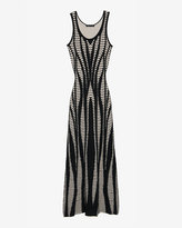 Rvn Maxi Cut Out Knit Dress