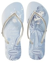 Havaianas Women's Slim Disney Princess Crystal Flip Flop