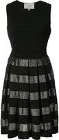 Carolina Herrera - robe rayée -