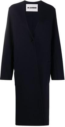 Jil Sander Cashmere Oversized Cardigan Coat