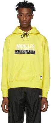 MONCLER GENIUS 7 Moncler Hiroshi Fujiwara Yellow Logo Hoodie