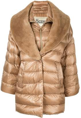 Herno double layer padded coat