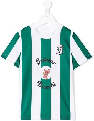 Caroline Bosmans Kids striped short-sleeve T-shirt