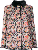 Etro paisley print short coat
