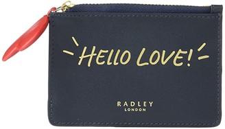 Radley London I Love You - Small Zip Top Coin Purse (Ink) Handbags