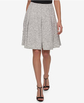 Tommy Hilfiger Marled Fit & Flare Skirt, Only at Macy's