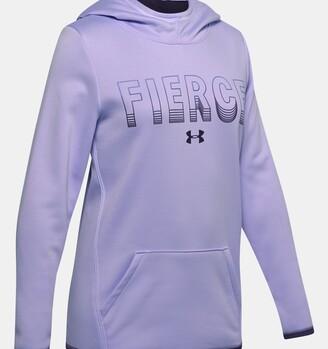 Under Armour Girls' Armour Fleece Fierce Hoodie