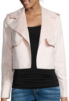 I (heart) Ronson I Heart Ronson I 'Heart' Ronson Long-Sleeve Faux-Suede Military Jacket