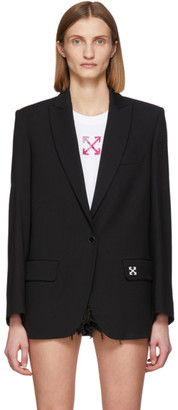 Off-White Off White Black Tomboy Blazer