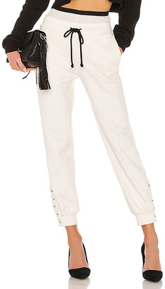 The Range Contra Terry Double Waist Jogger