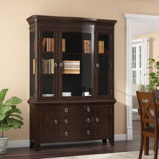 Kinsman Lighted China Cabinet Darby Home Co