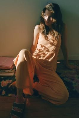 Out From Under River Jumpsuit - Brown XS at Urban Outfitters