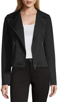 Liz Claiborne Simply Knit Heavyweight Motorcycle Jacket