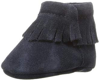 Baby Deer Baby Suede Moccasin with Fringe Boot