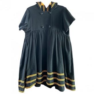Bernhard Willhelm Black Wool Dress for Women Vintage