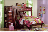 Nickelodeon Discovery World Furniture Weston L-Shaped Twin over Full Bunk Bed