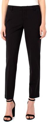 Liverpool Los Angeles Kelsey Pinstripe Knit Trousers
