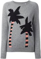 Chinti and Parker palm tree intarsia jumper - women - Cashmere - XS