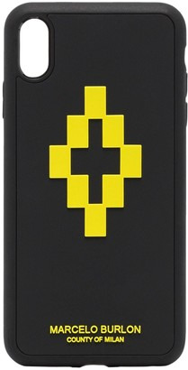 Marcelo Burlon County of Milan 3D cross iPhone XS Max CSS case
