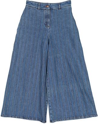 Chanel Blue Cotton Jeans
