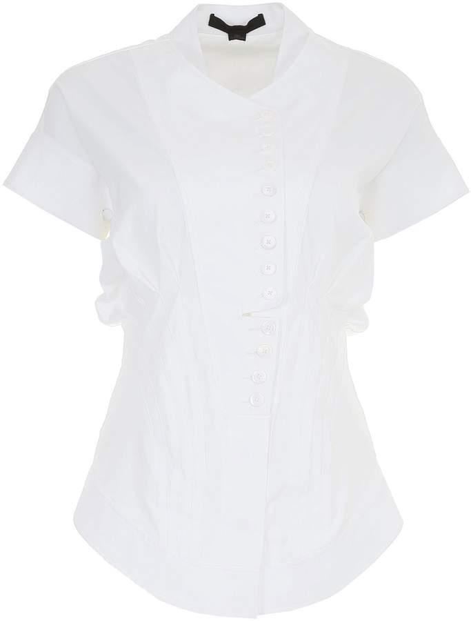 Alexander Wang Poplin Deconstructed Shirt