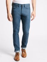 Marks and Spencer Slim Fit Selvedge Jeans