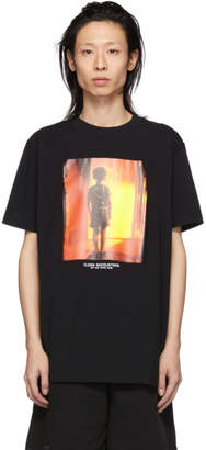 Marcelo Burlon County of Milan Black Close Encounters of the Third Kind Edition Child T-Shirt