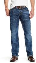 True Religion Faded Wash Straight Leg Jean