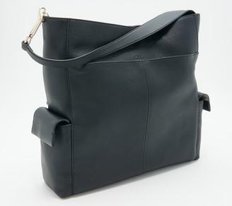 Vince Camuto Lamb Leather Cargo Pocket Hobo - Garri