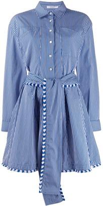 Derek Lam 10 Crosby Striped Shirt Dress