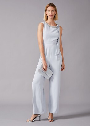 Phase Eight Charity Beaded Neck Jumpsuit